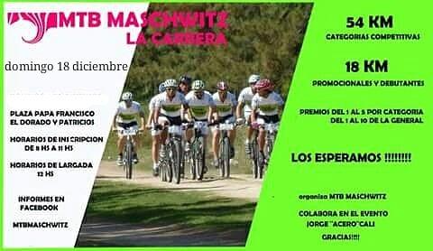 El MTB Maschwitz organiza una  carrera de Mountain Bike para diciembre