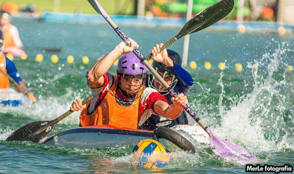 Un deportista olímpico formará parte del equipo de Kayak Polo en el Sudamericano