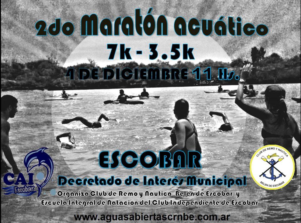 Se viene la segunda edición del maratón acuático