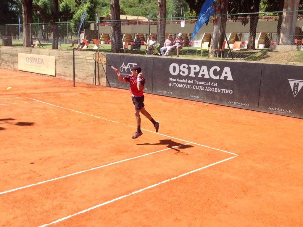 """Juan Ignacio Galarza jugó con """"Charly"""" Berlocq y fue sparring del equipo de Copa Davis"""