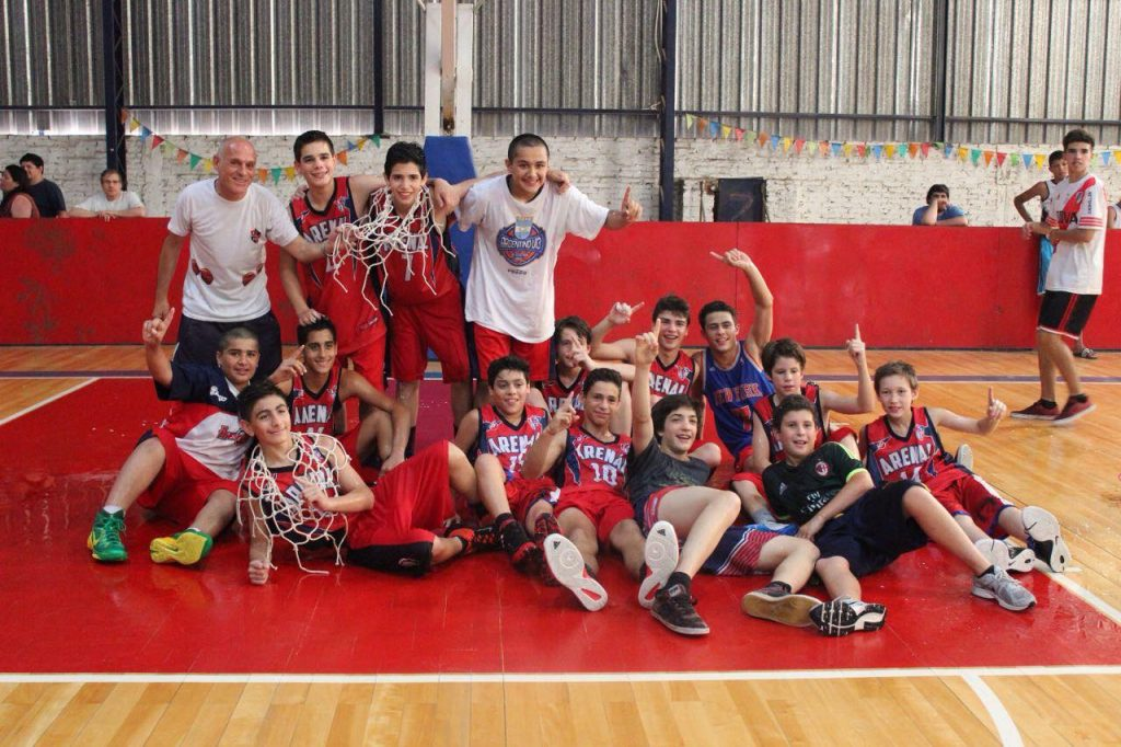 Los U13 areneros fueron campeones de la ABZC