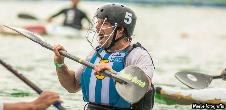 Diego Gago jugador de Kayak Escobar y selección Argentina