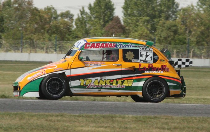 Premiado. El auto de D'angelo es el mejor presentado de la TC1100