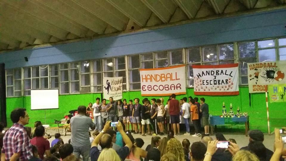 Handball Escobar,  cerró su año con una Fiesta increíble en el Polideportivo