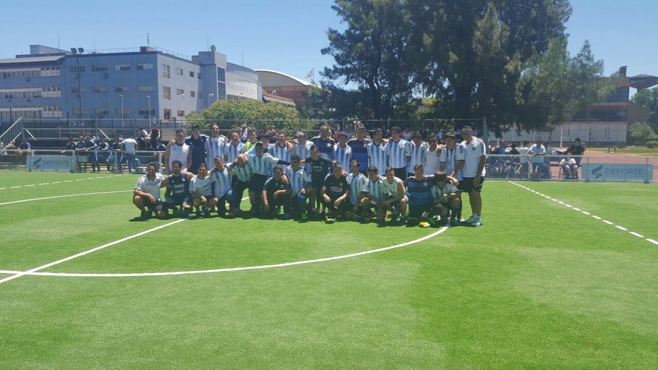 Los Murciélagos junto a la Selección Argentina campeona de FUTSAL