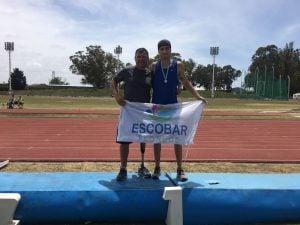 Nicolás Baumann se consagró campeón Nacional en 800 metros