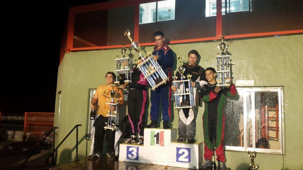Monroy es subcampeón Júnior de Kart Plus