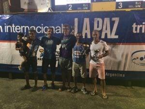 Importante presencia escobarense en el Triatlón de La Paz