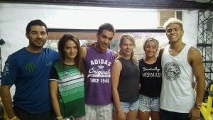 El equipo de  natación federado de CAIDE, mostró al país su talento deportivo