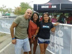Escobarenses presentes en el Ironman 70.3