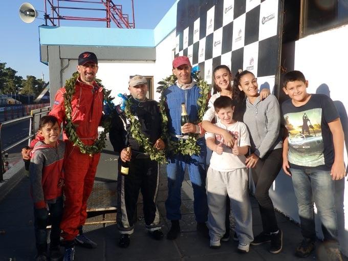 DIEGO FANGIO, el último campeón hizo gala del uno en el  inicio de ALMA, en el Gálvez