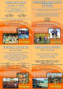 Bolagama presenta su flamante Escuela Multideportiva