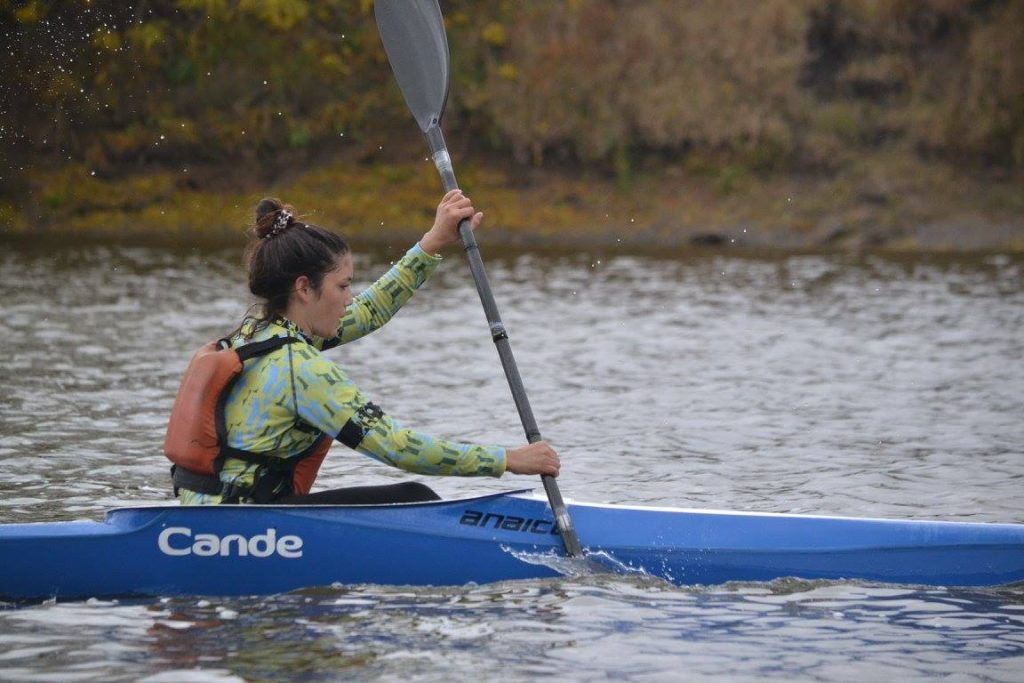 Candela Acosta clasificó al Mundial de Canotaje