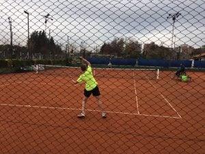 Largó el Torneo Abierto de tenis del CAIDE