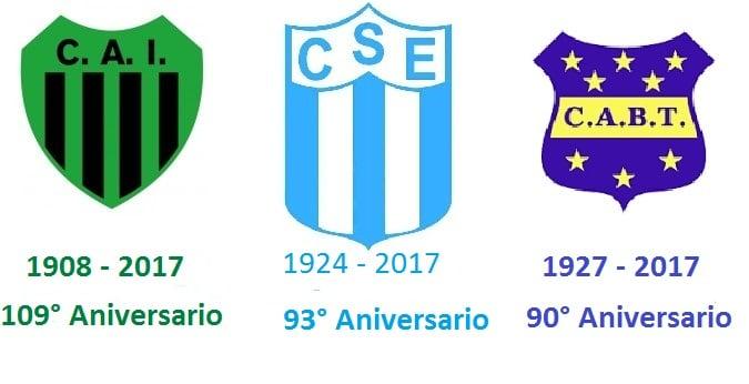 Un nuevo aniversario para tres clubes de Escobar