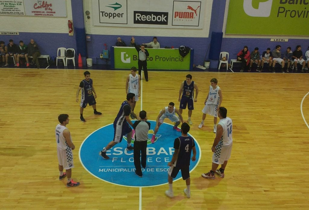 Gran jornada para el Basquet de Sportivo Escobar