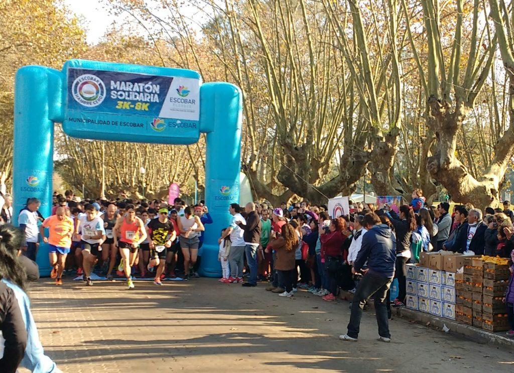La Maratón Solidaria fue todo un éxito