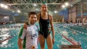 Macarena Giménez logró dos medallas en Mar del Plata