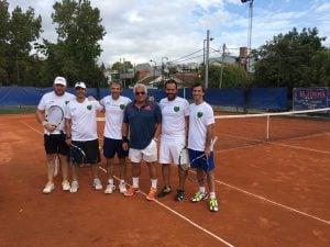 TENIS: Independiente, juega, gana  y acaricia  la rueda campeonato