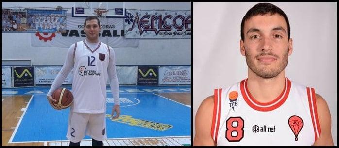 Jonathan Sacco (Pivot) y Matias Paciotti (Base) nuevas incorporaciones