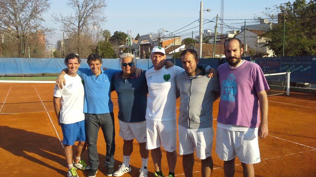 Independiente, fue contundente en el inicio de la ronda campeonato del interclubes de Tenis