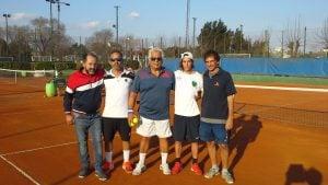 Guillermo Canel y Álvaro Camín, campeones del torneo interno de tenis verdinegro