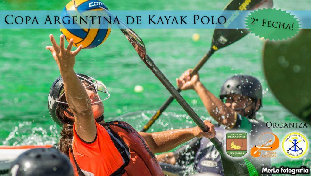 Escobar, será sede de la 2da fecha de la Copa Argentina de KAYAK POLO