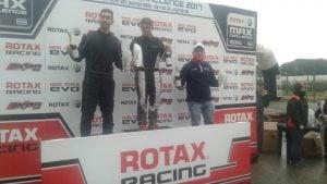 Lucas Monroy,   regreso y triunfo  en el kartodromo  de Buenos Aires