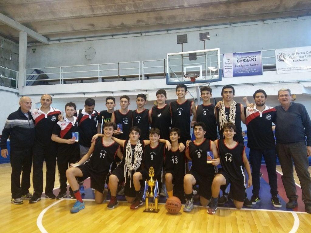 La ABZC se consagró campeón del Provincial U13