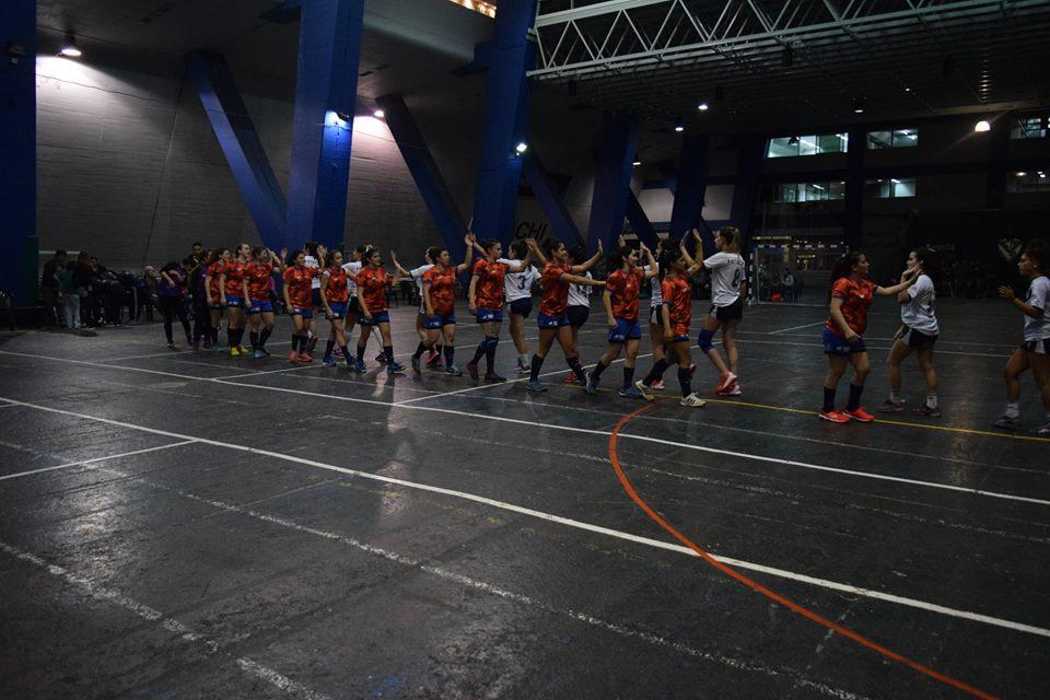 Handball: mal fin de semana para Escobar en Mayores