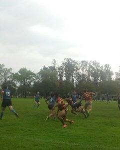 El marrón se acomoda en la zona campeonato