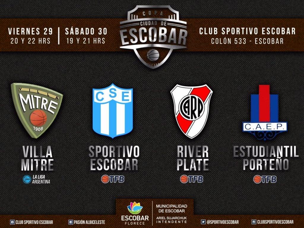 La preparación de Sportivo seguirá con la Copa Ciudad de Escobar