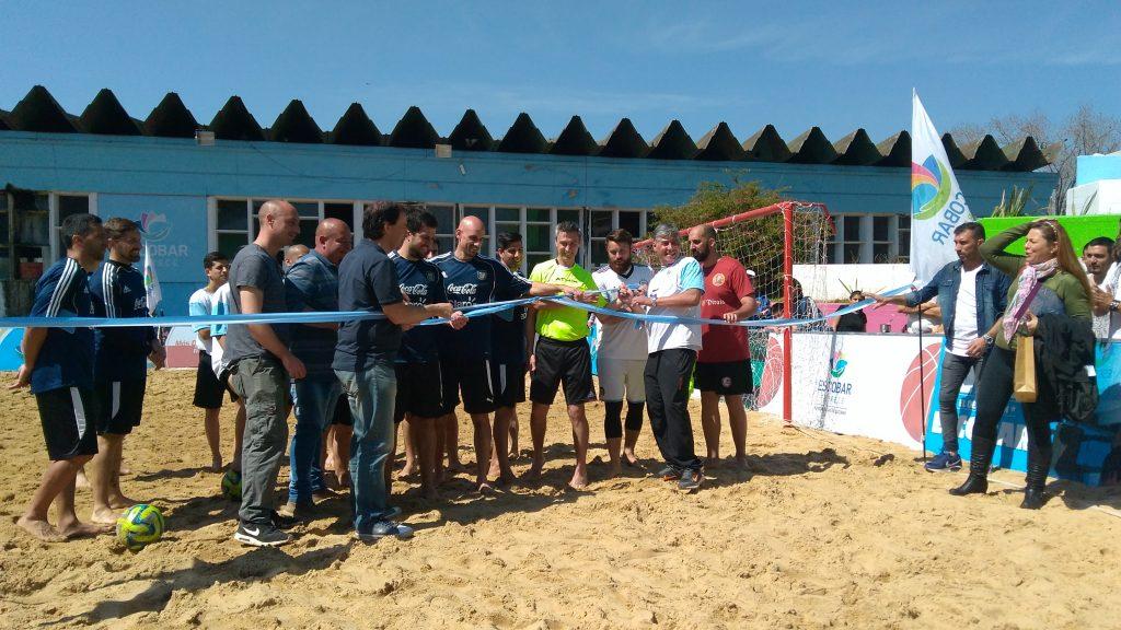 Las nuevas obras del Polideportivo de Escobar quedaron oficialmente inauguradas