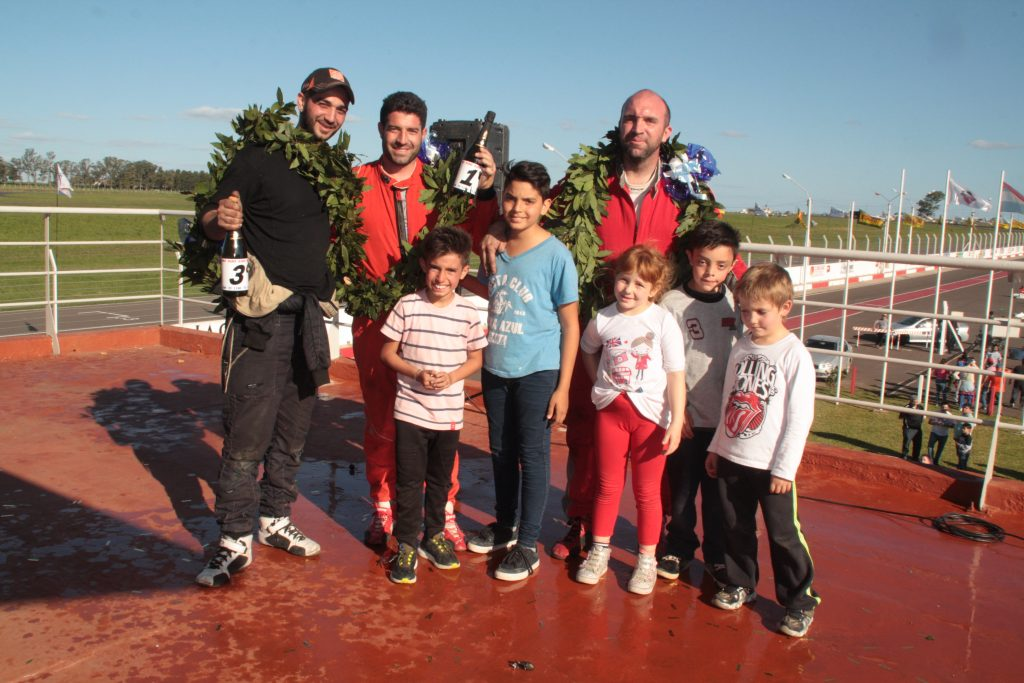 Marcos Cordani, ganó la final del TC 1100 en Concepción del Uruguay