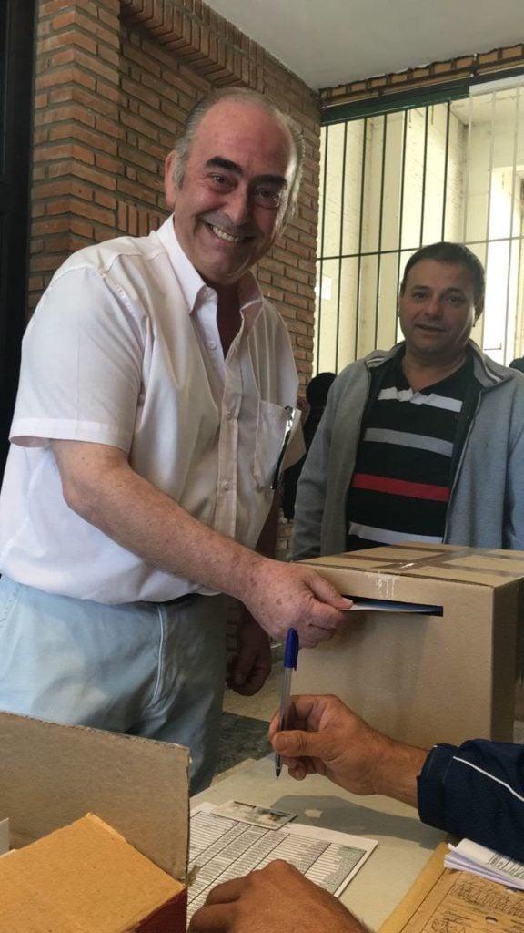 Daniel Santeusanio, es el nuevo presidente del Club Italiano de Escobar