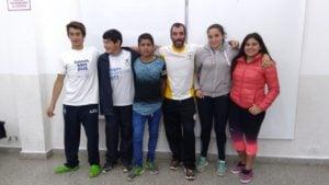 Gran participación de los jóvenes del CRNBE en los Juegos Bonaerenses y Evita
