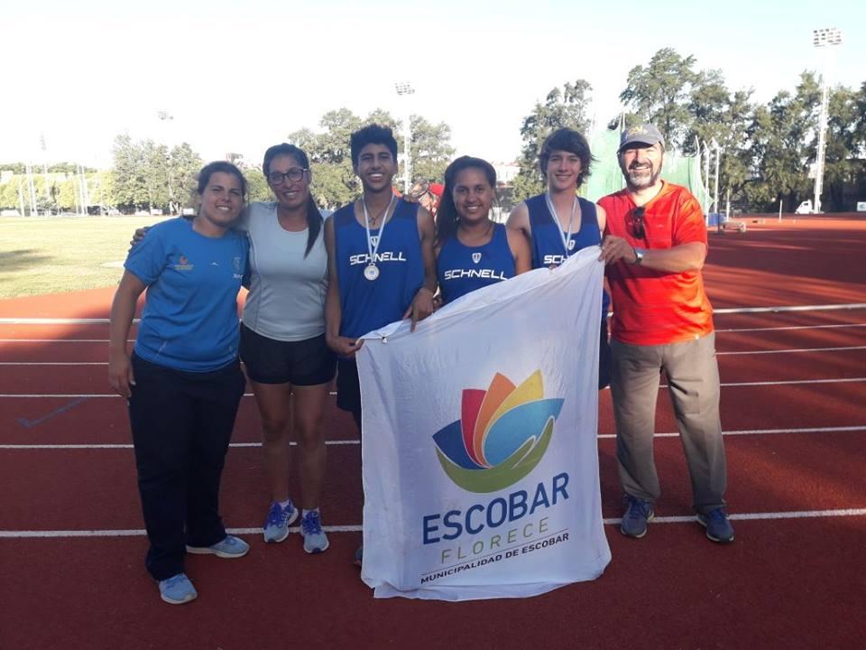 El Atletismo de Escobar sigue cosechando grandes logros