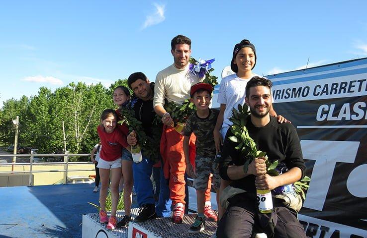 Marcos y Mariano  Cordani,  unidos por el triunfo en La Plata