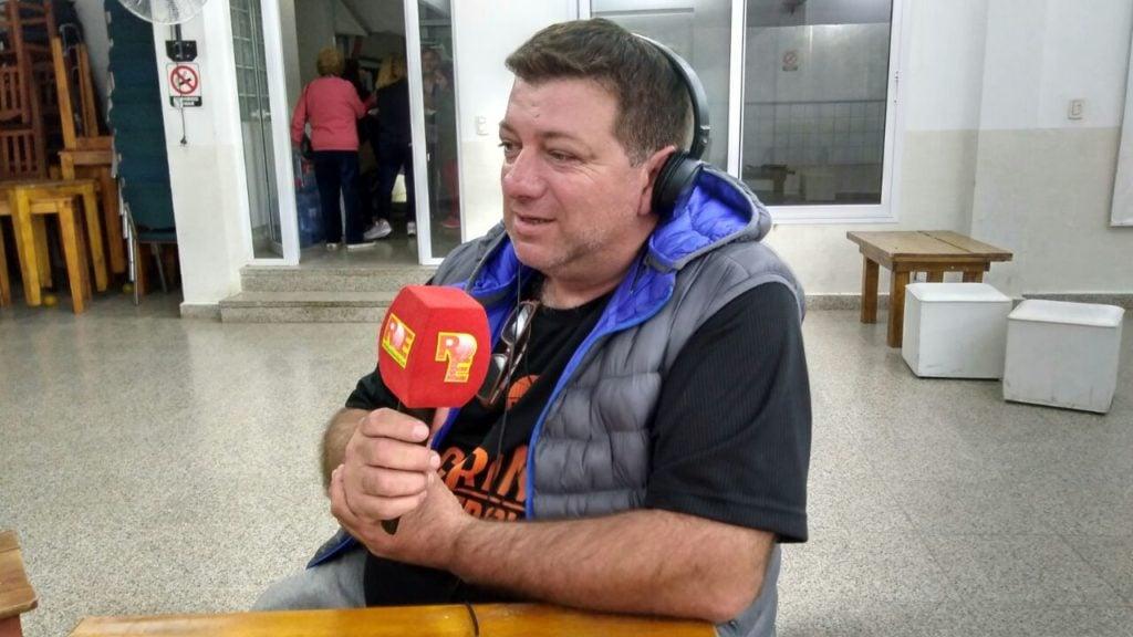 """Gustavo Carrizo: """" Tenemos un equipo que trabaja bien"""""""