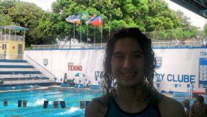 Macarena Gimenez dejó bien representado a Independiente en Brasil