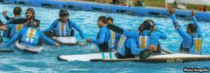 """Para la Selección Argentina de Kayak Polo masculina, """"el Bronce vale Oro, por el trabajo del equipo"""""""