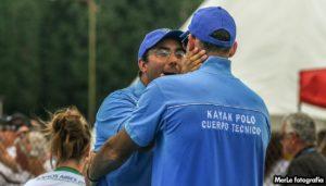 """Fernando Taglioretti:  """"la familia del Kayak Polo está muy orgullosa por lo realizado"""""""