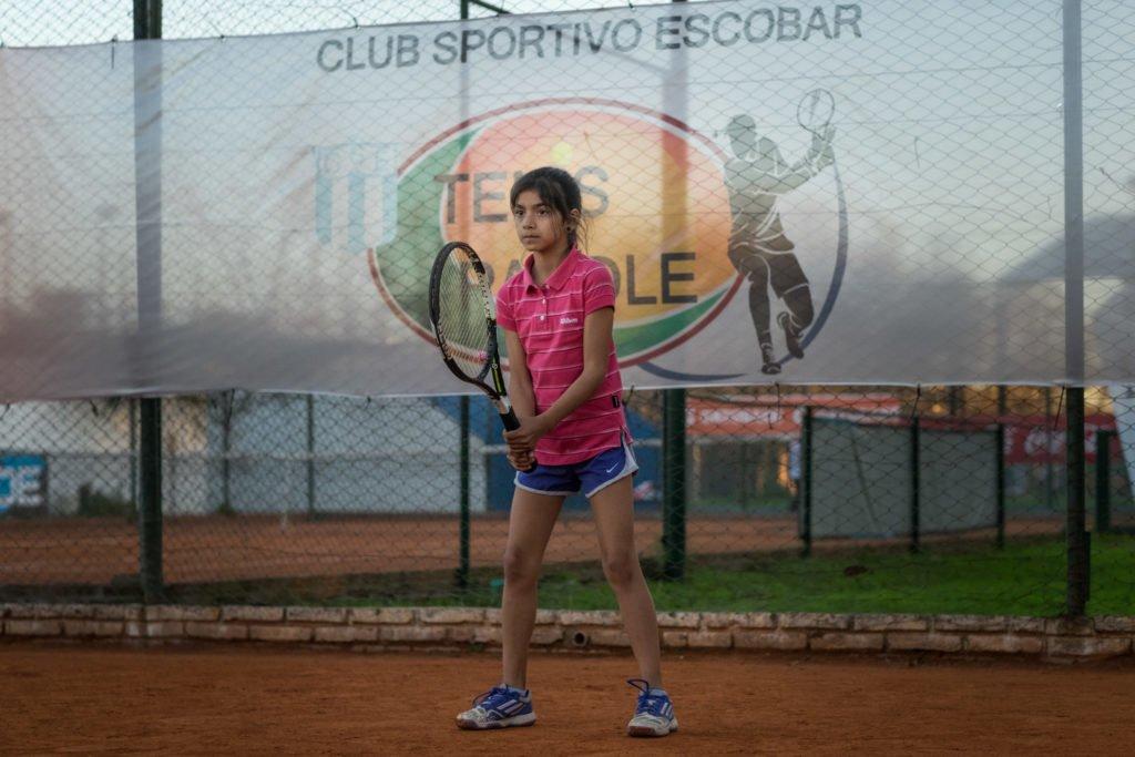 Sahira Tierno, la promesa del tenis local