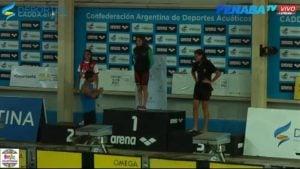Candela Nieves campeona Nacional