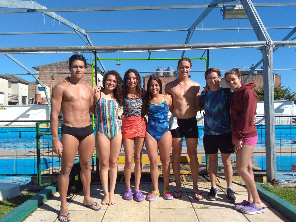 Nadadores del CAIDE participarán del Campeonato Nacional de Juveniles y Juniors
