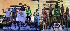 Villarruel y Castelli brillaron en el Half Ironman