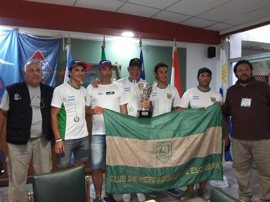El Club de Pescadores participó de la Copa Hermandad