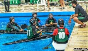"Club de Pescadores ""A"" ganó la segunda fecha de la Copa Argentina de Kayak Polo"