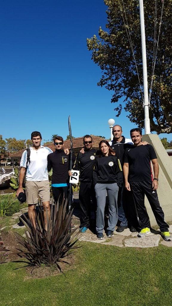 Gran actuación del equipo del Club de Remo y Náutica de Escobar  en Olavarría y Tigre