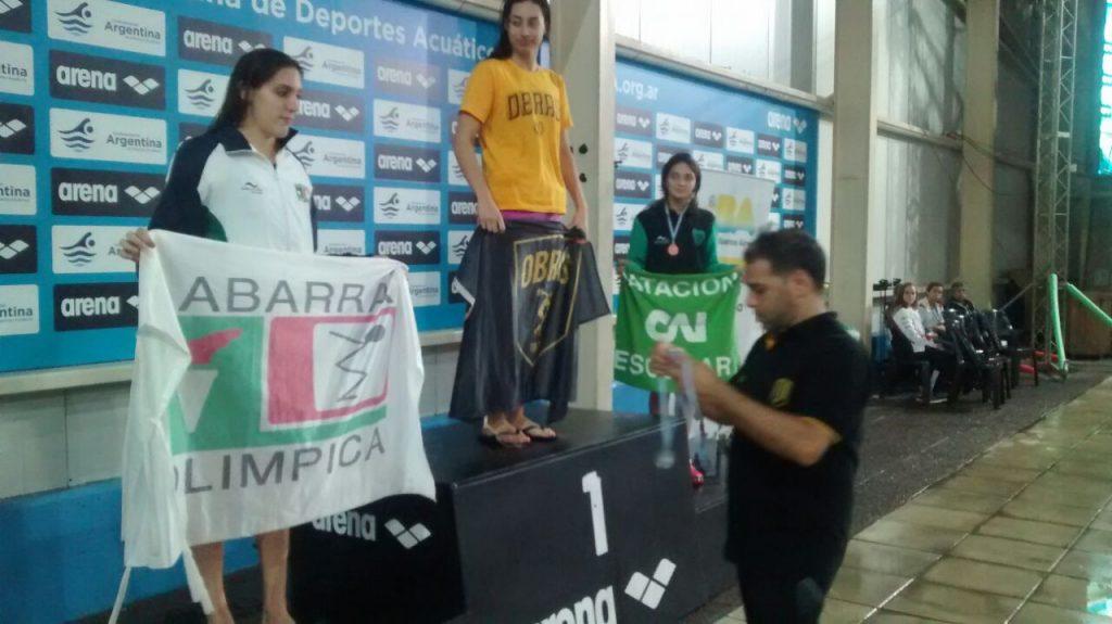 Candela Nieves, medalla de bronce en el Nacional OPEN